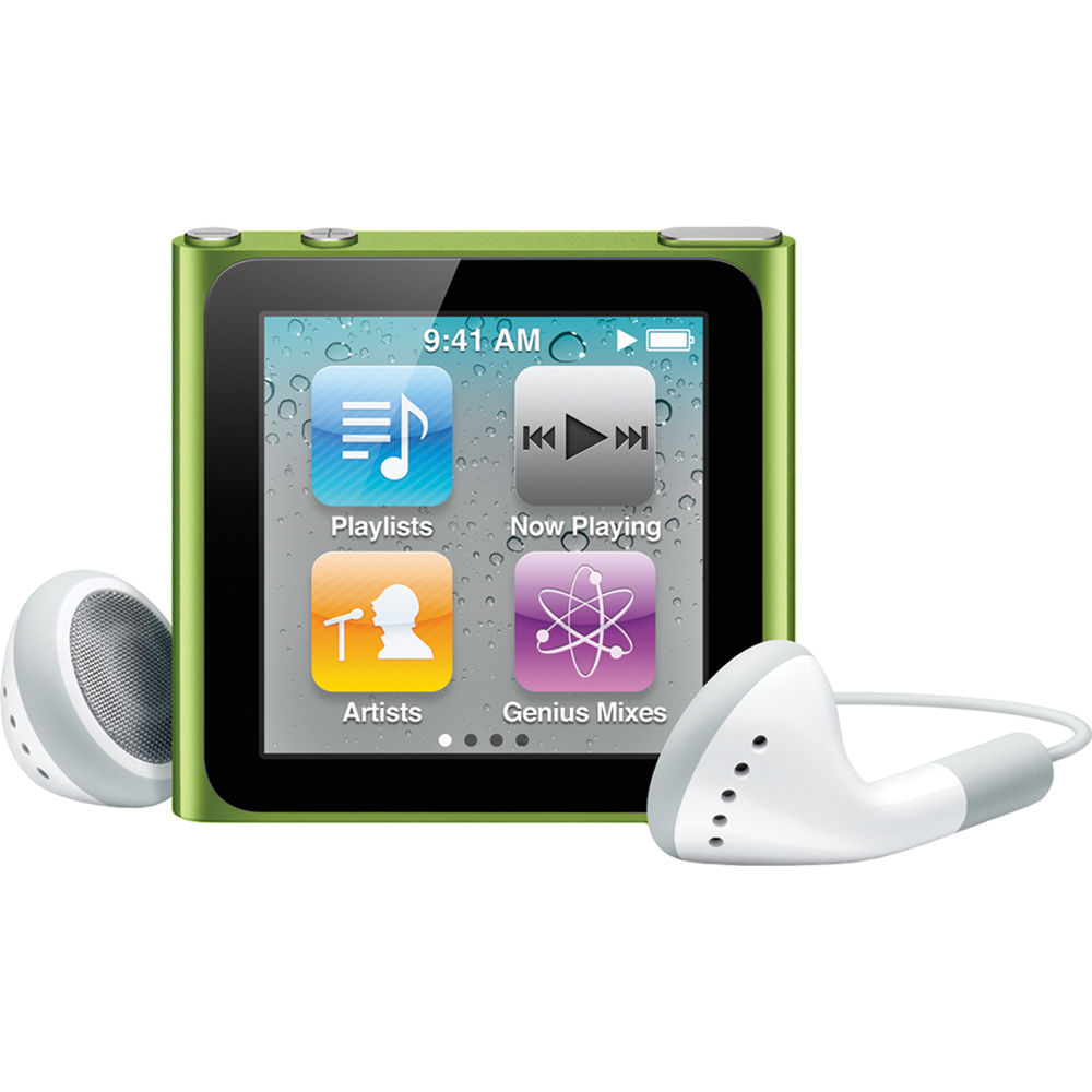 Apple 16GB iPod nano (Green) (6th Generation)