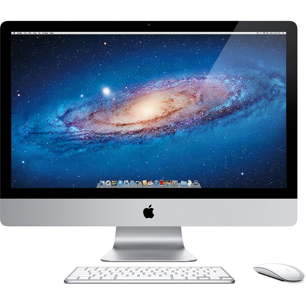 apple 27 imac desktop computer mc813ll a b h photo video. Black Bedroom Furniture Sets. Home Design Ideas