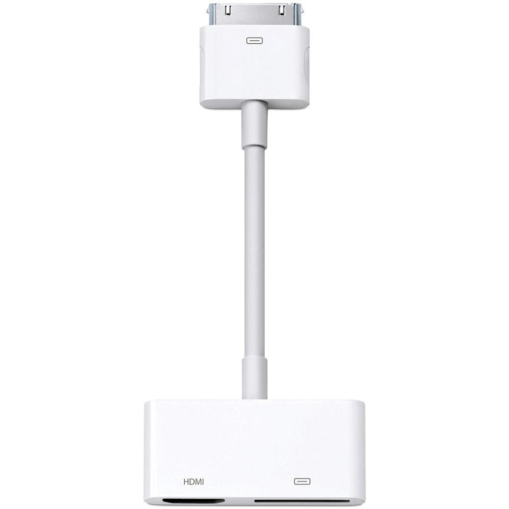 Apple Digital Av Adapter Md098zm A B Amp H Photo Video