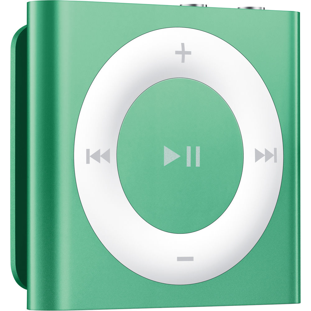 Apple 2GB iPod Shuffle (Green, 4th Generation) MD776LL/A B&H