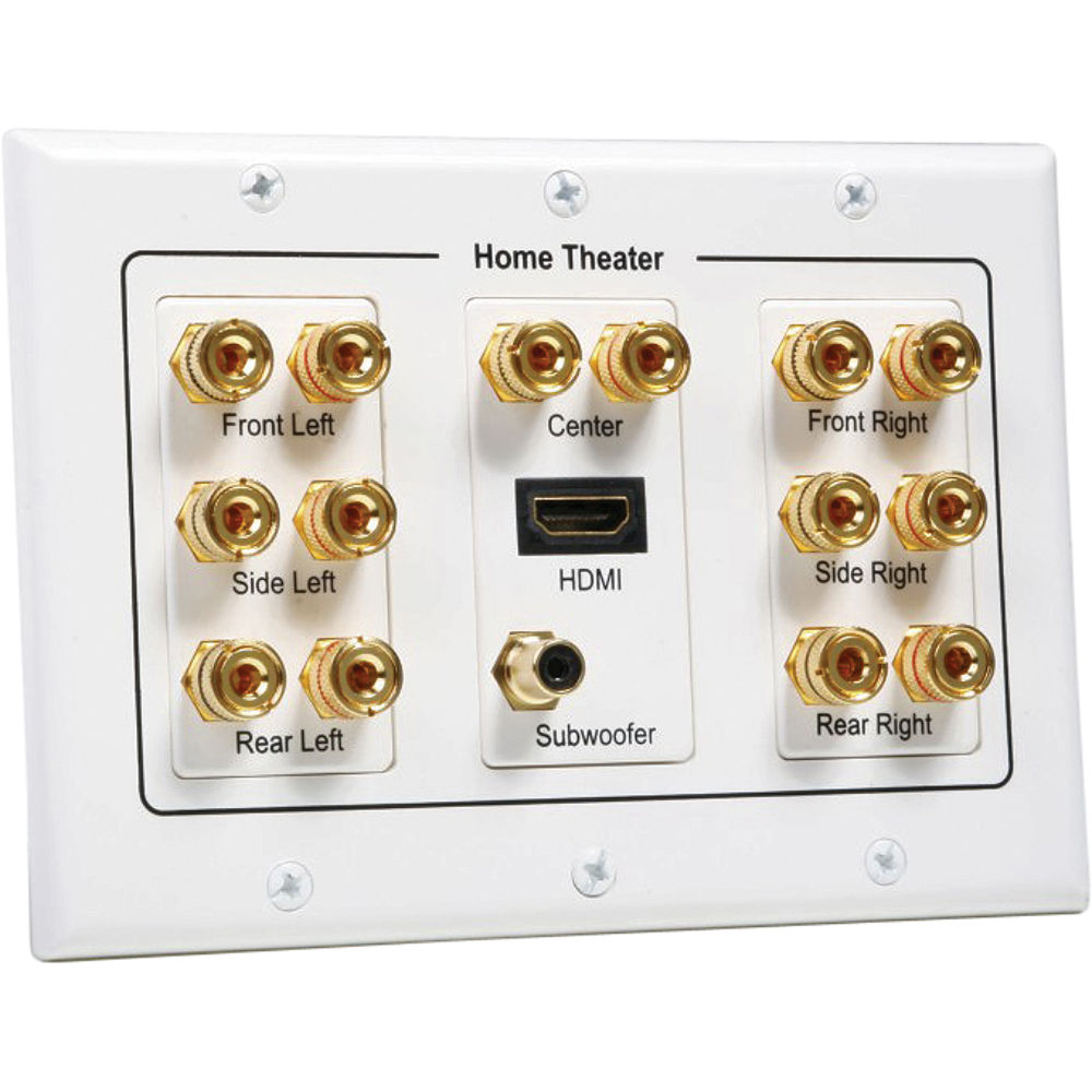 Atlona 71 Speaker Wall Plate With 1 X HDMI Input