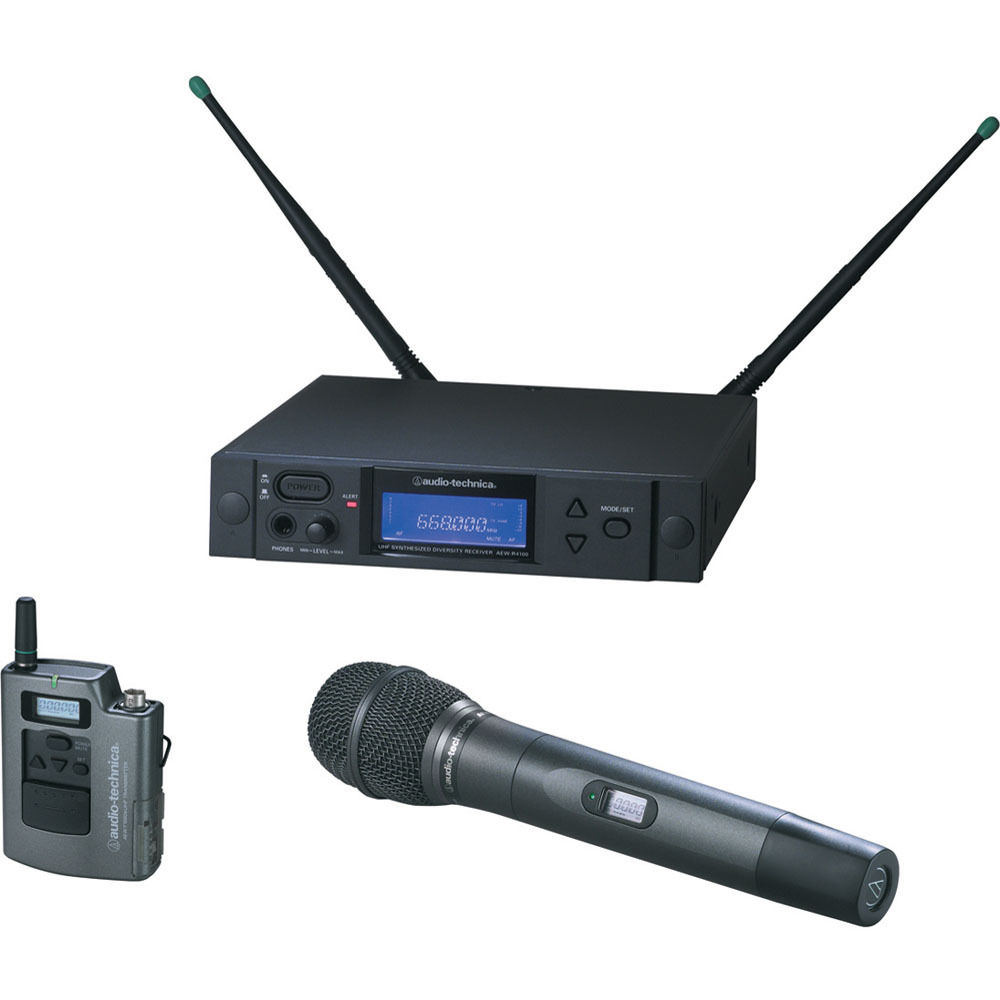 Audio Technica Uhf Wireless Microphone System Auto Electrical Wiring Diagram 4000 Series Aew 4316ac Turntable