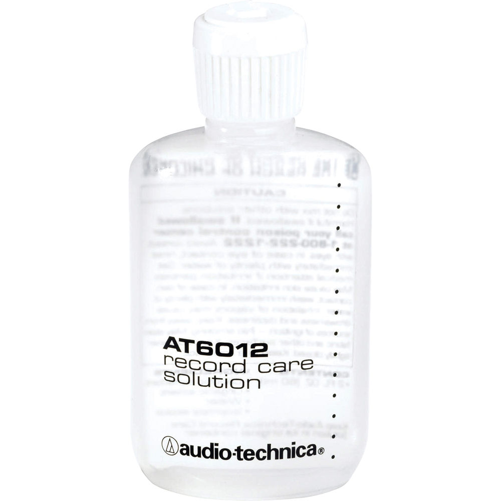 Audio Technica At634 Vinyl Record Cleaning Solution At634 B Amp H