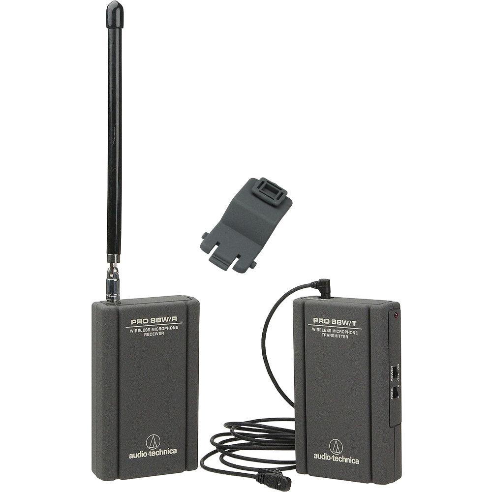 Audio Technica Wireless Microphone Antenna Blog Wiring Diagram Pro 88w 830 Camera Mountable Vhf W88 24 Bh Lectrosonics