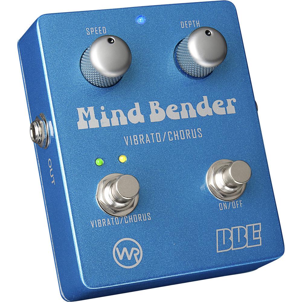 bbe sound mind bender vibrato chorus pedal mind bender b h. Black Bedroom Furniture Sets. Home Design Ideas