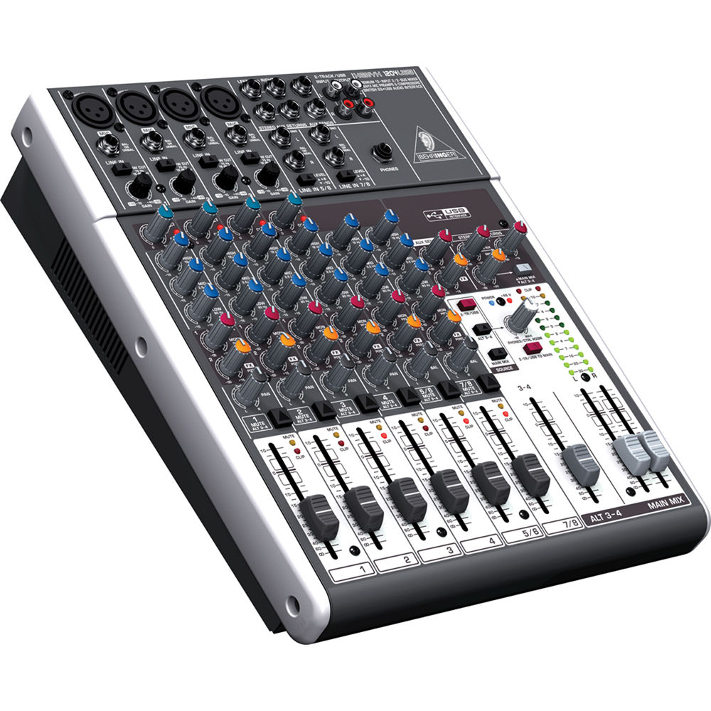 behringer xenyx 1204usb 12 input usb audio mixer 1204usb b h. Black Bedroom Furniture Sets. Home Design Ideas