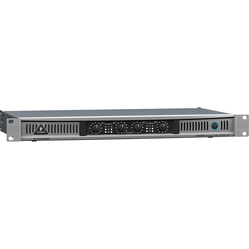 Behringer Europower Epq304 4 Channel Power Amplifier 50w Channel 8 Ohms