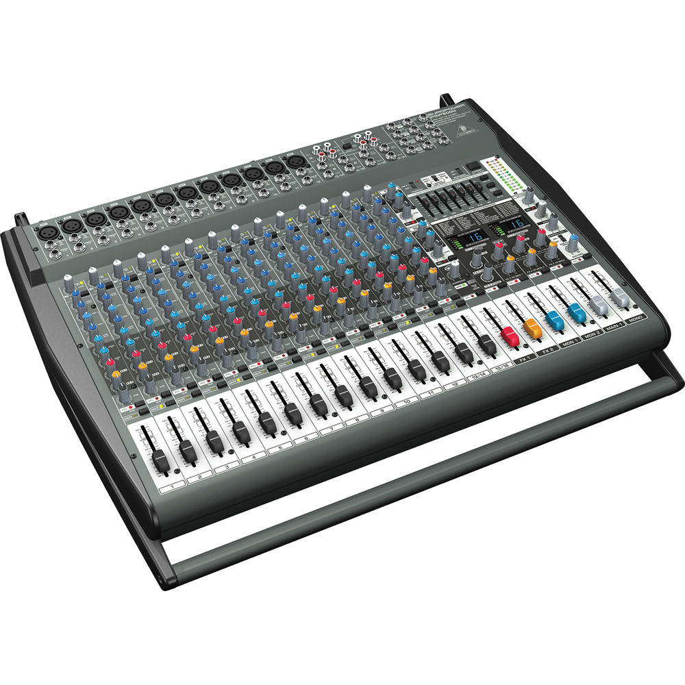 behringer pmp6000 20 channel powered mixer pmp6000 b h photo. Black Bedroom Furniture Sets. Home Design Ideas