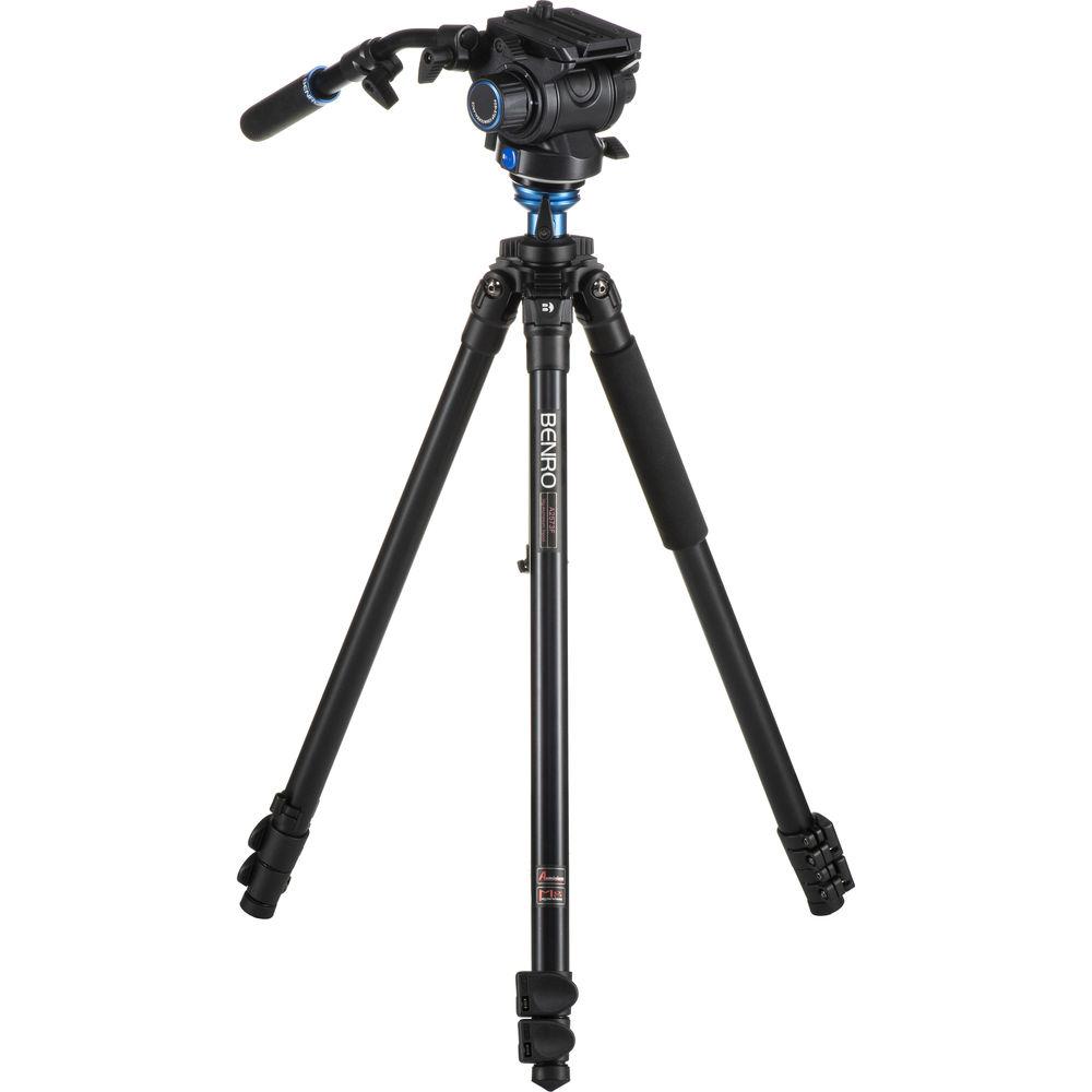 Benro A2573FS6 S6 Video Head and AL Flip Lock Legs Kit ...