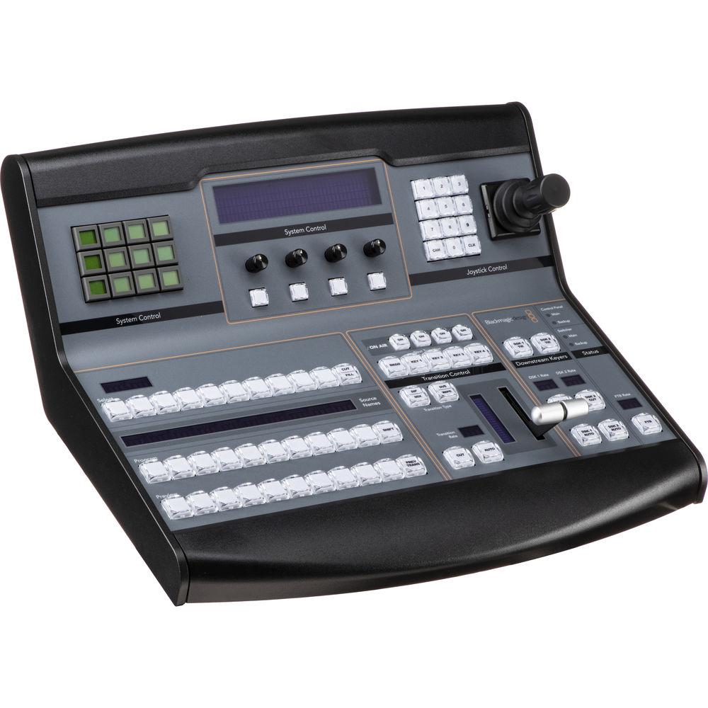 Blackmagic design atem 1 m e broadcast panel swpanel1me b h for Control m architecture