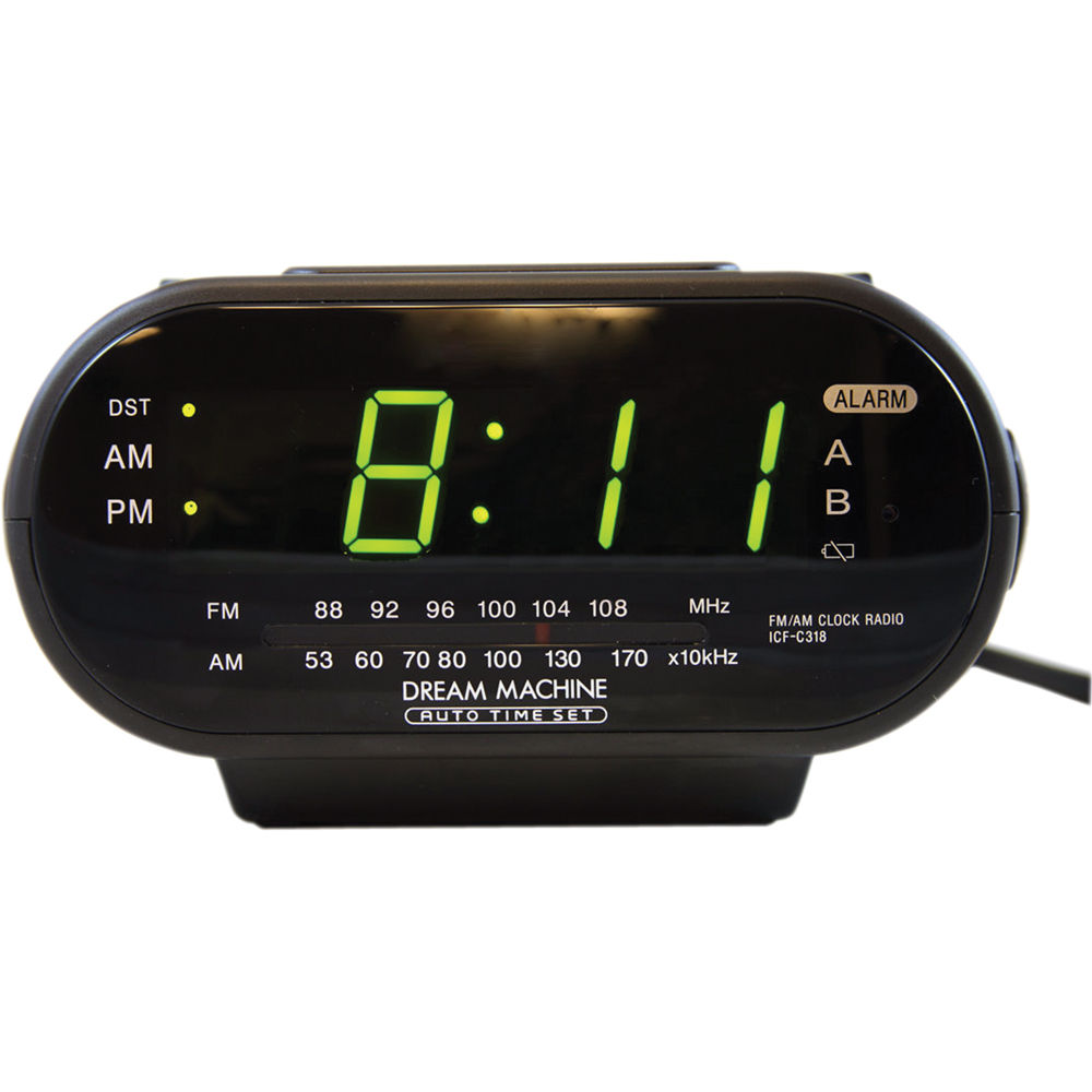 bolide technology group self recording sony radio clock bm3241. Black Bedroom Furniture Sets. Home Design Ideas