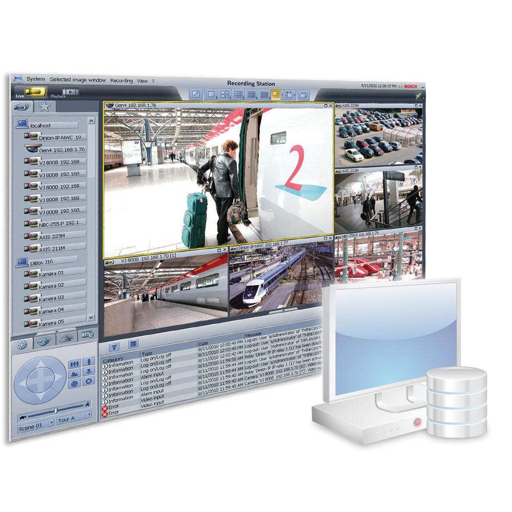 bosch brs dvd 16a recording station software b h. Black Bedroom Furniture Sets. Home Design Ideas