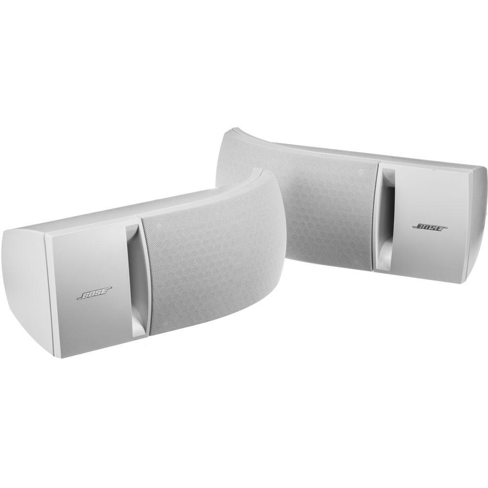 Bose 161 Full Range Bookshelf Speakers White Pair