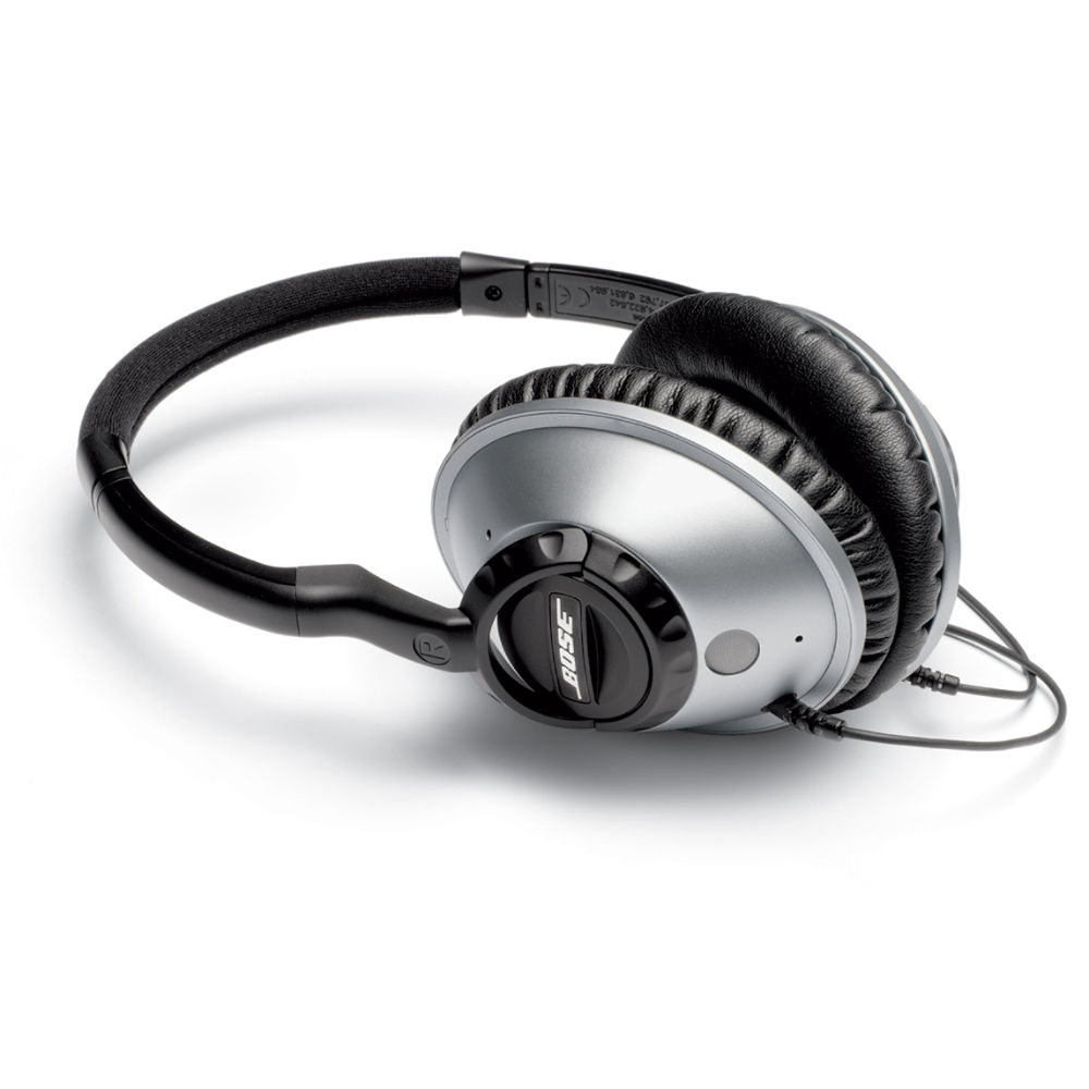 Bose Stereo >> Bose Around-Ear Headphones (Silver) 41213 B&H Photo Video