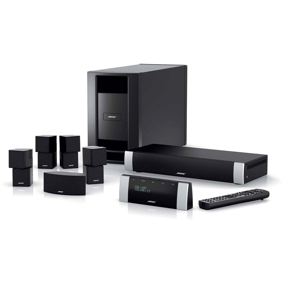 bose lifestyle v30 home theater system black 41794 b h photo. Black Bedroom Furniture Sets. Home Design Ideas