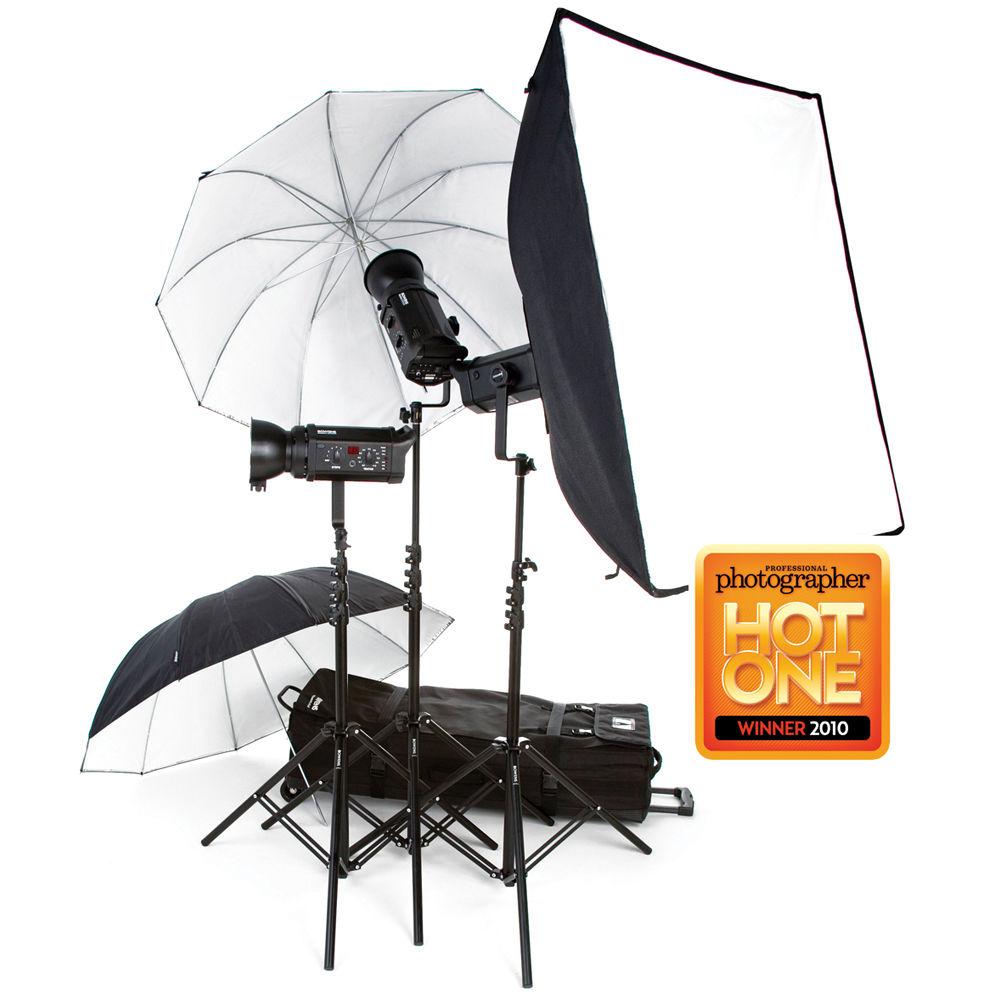 Bowens Esprit 500 Studio Lighting Kit: Bowens Gemini 500R 3-Light Kit BW-4850USD B&H Photo Video