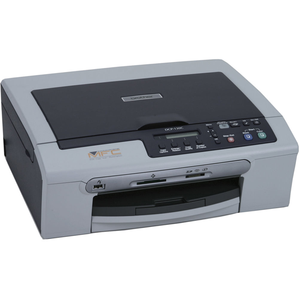 brother dcp 130c color inkjet all in one printer dcp130c b h rh bhphotovideo com brother dcp-130c manual download brother dcp 130c manuale