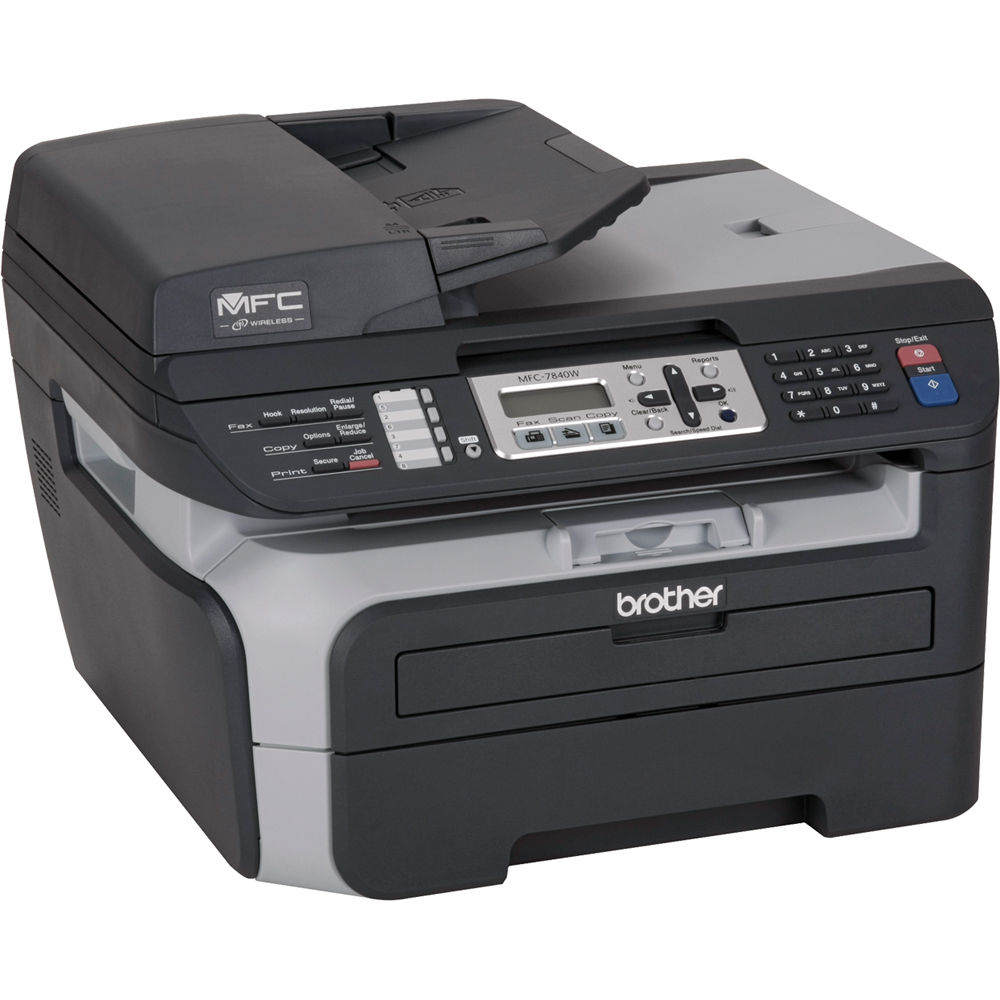 brother mfc 7840w laser multi function center mfc 7840w b h rh bhphotovideo com brother printer driver mfc-7840w Brother Printer MFC-7840W Drivers
