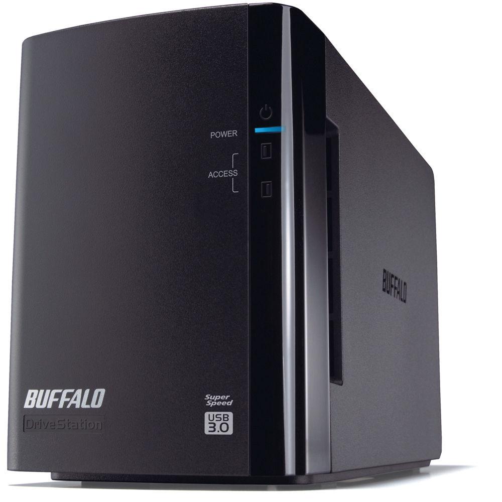 Buffalo 4TB DriveStation Duo USB 3.0 Hard Drive RAID HD ...