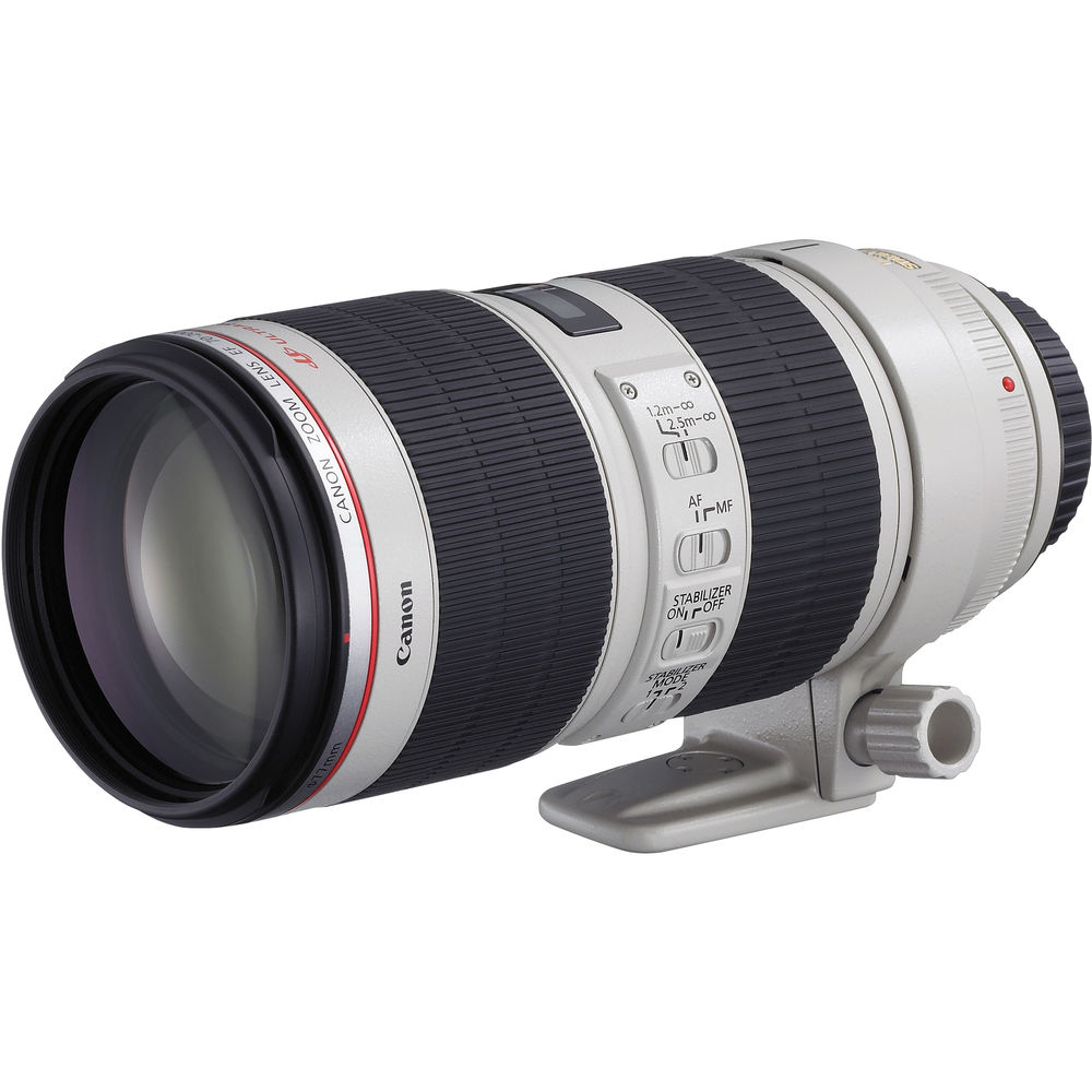 Lens 200mm Canon Canon ef 70-200mm F/2.8l is ii