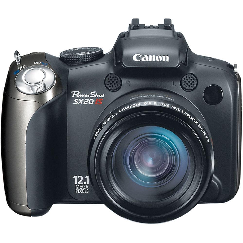 Canon PowerShot SX20 IS Digital Camera 3633B001 B&H Photo ...