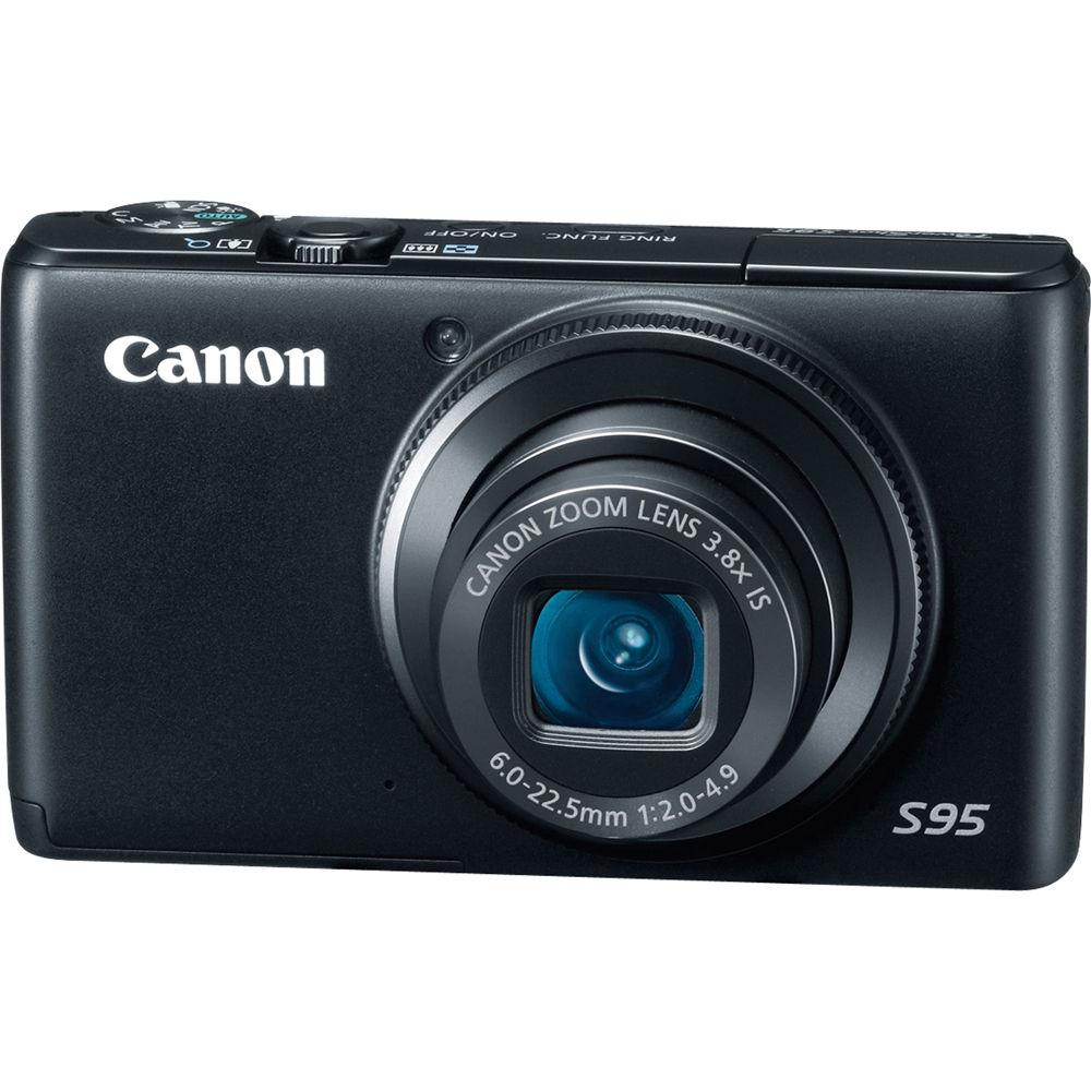 canon powershot s95 digital camera 4343b001 b amp h photo video