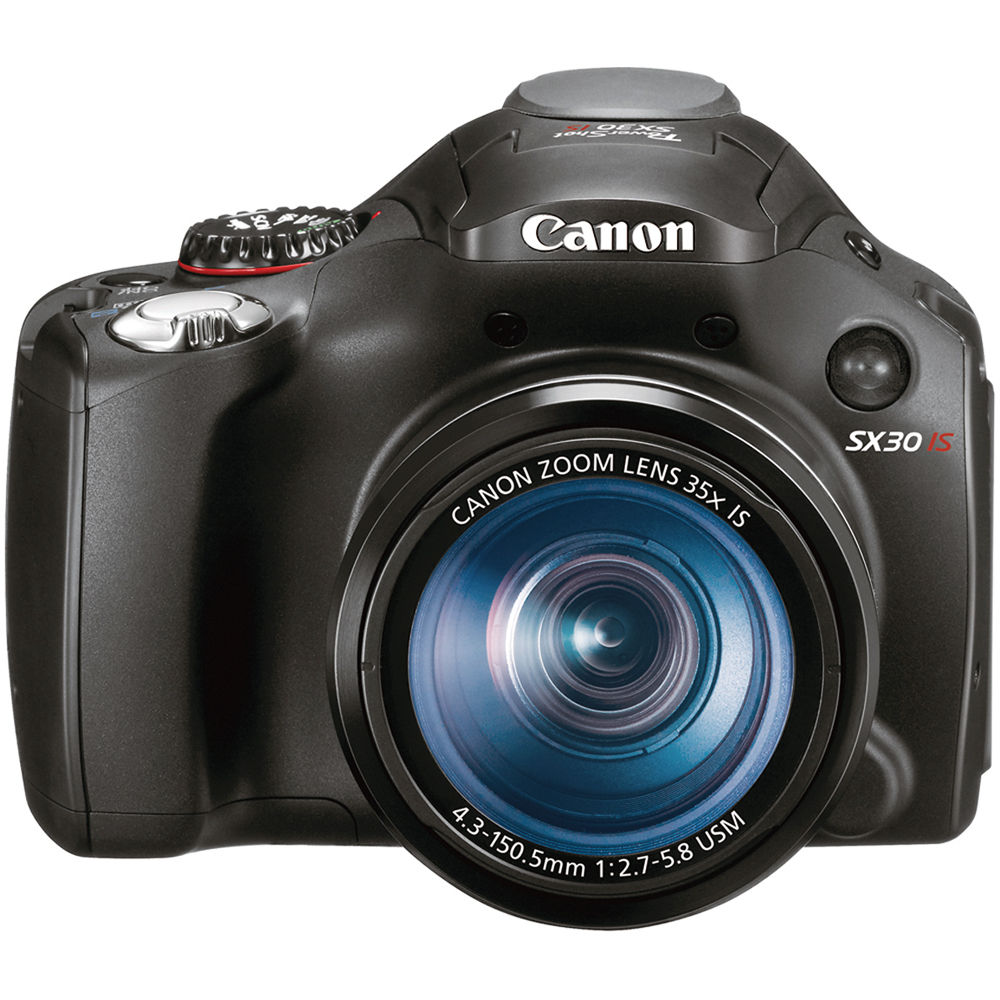 Canon PowerShot SX30 IS Digital Camera 4344B001 B&H Photo ...