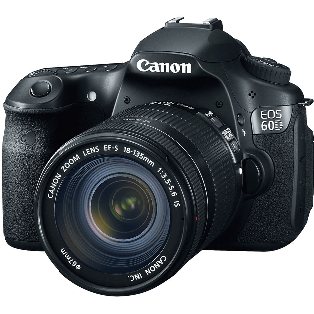canon eos 60d dslr camera with 18 135mm lens