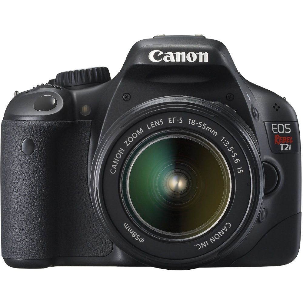 Amazon.com : Canon EOS Rebel T2i DSLR Camera with EF-S 18 ...