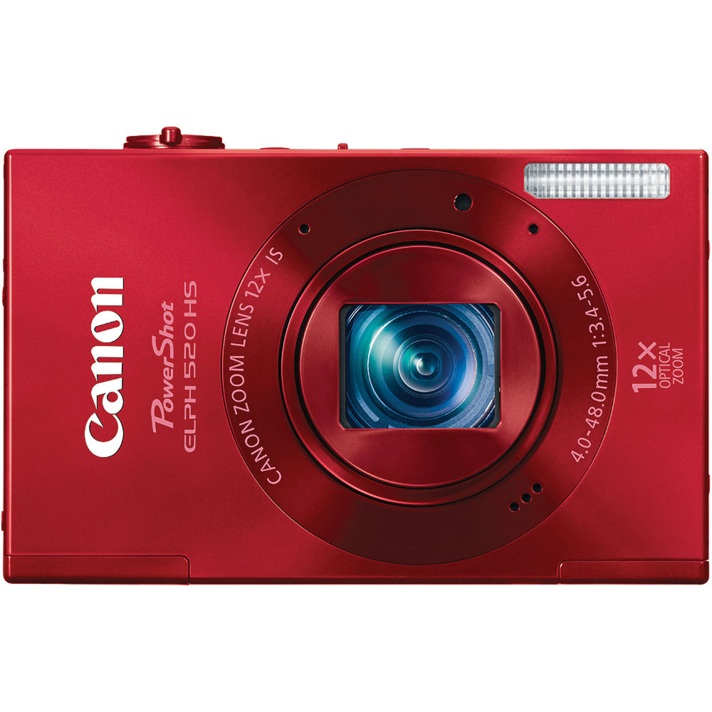 canon powershot elph 520 hs digital camera red 6171b001 b h rh bhphotovideo com canon powershot elph 520 hs instruction manual Canon PowerShot ELPH 110 HS