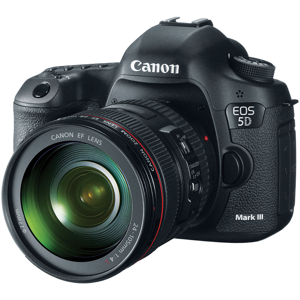 Canon EOS 5D Mark III DSLR Camera with 24-105mm Lens 5260B009
