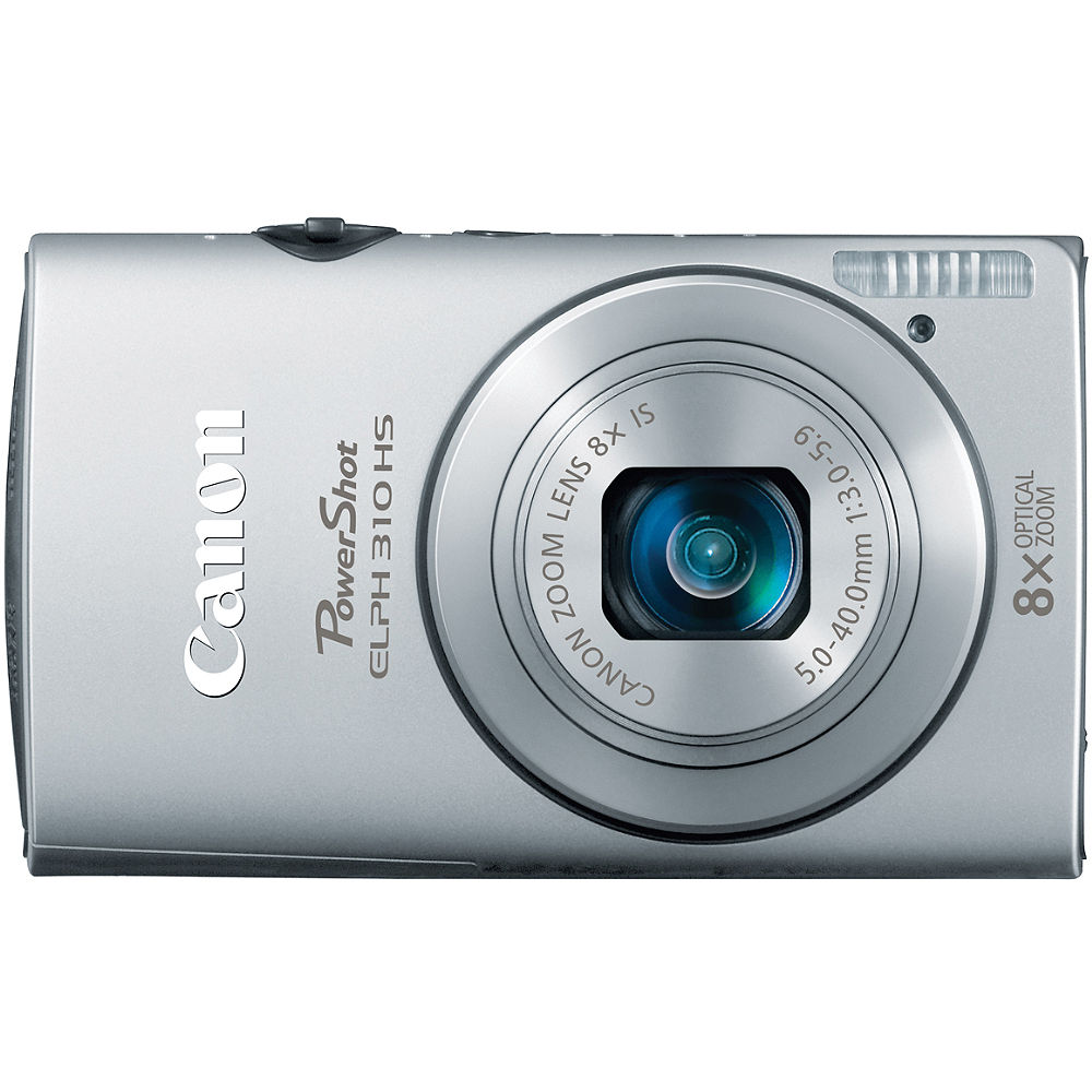 canon powershot elph 310 hs digital camera silver 5269b001 b h rh bhphotovideo com Canon ELPH Series Canon ELPH 500 HS Review