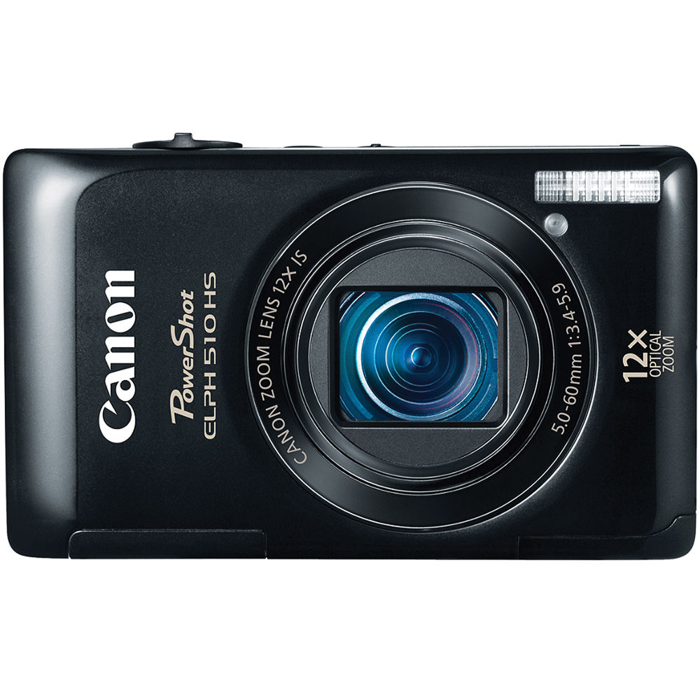 canon powershot elph 510 hs digital camera black 5685b001 b h rh bhphotovideo com canon powershot a510 manual Canon ELPH Review