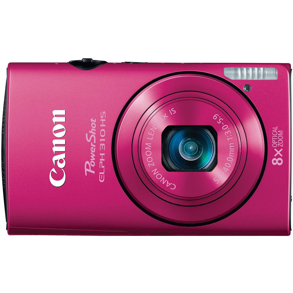 canon powershot elph 310 hs digital camera pink 5698b001 b h rh bhphotovideo com Canon ELPH Series Canon ELPH 500 HS Review