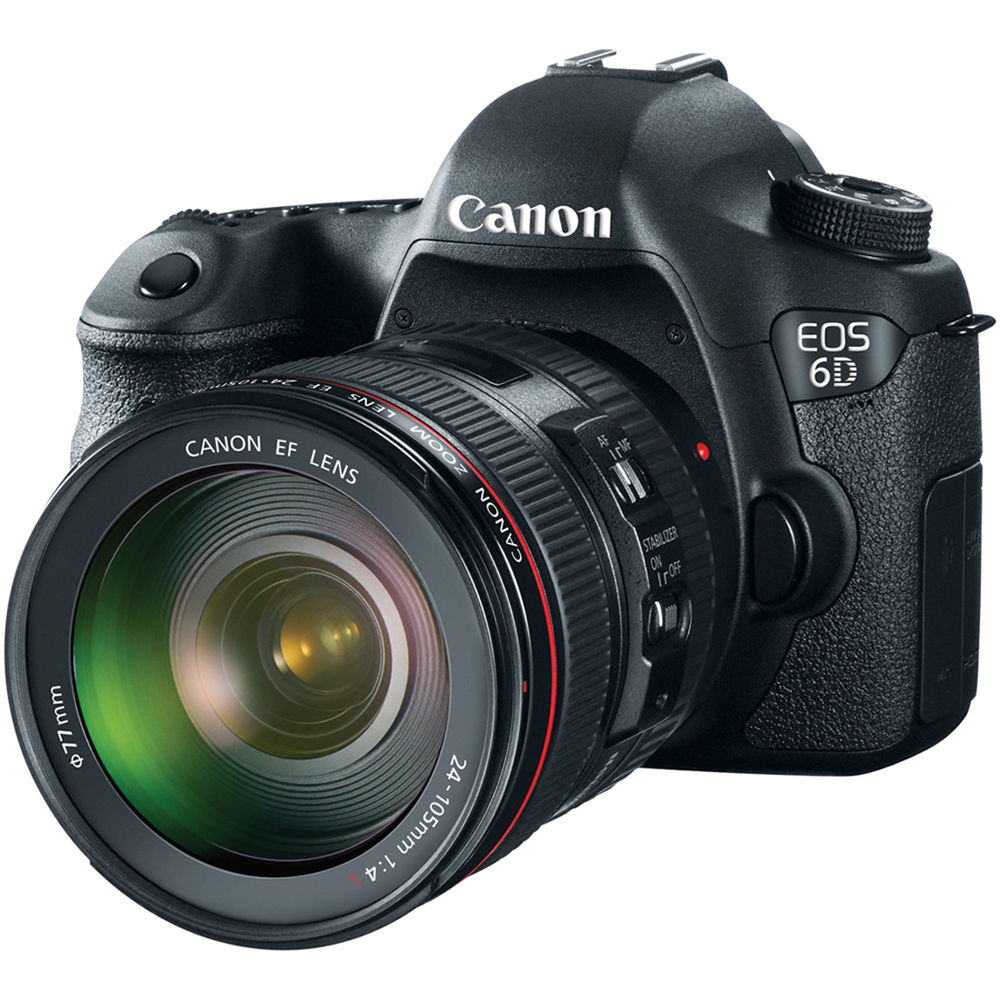 the 6d is also canons first eos dslr to integrate a built in wi fi transmitter and gps receiver for greater connectivity between your camera and other
