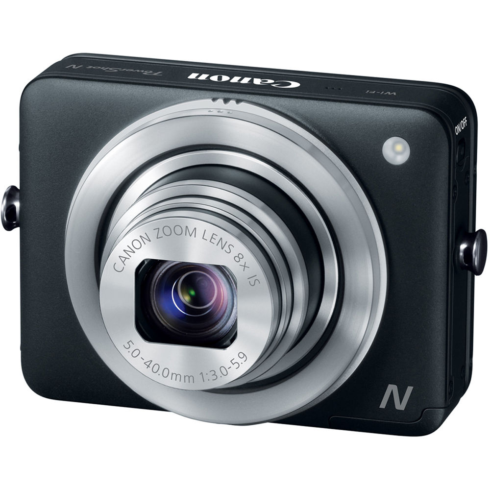 Canon PowerShot N Digital Camera (Black) 8230B014 B&H Photo