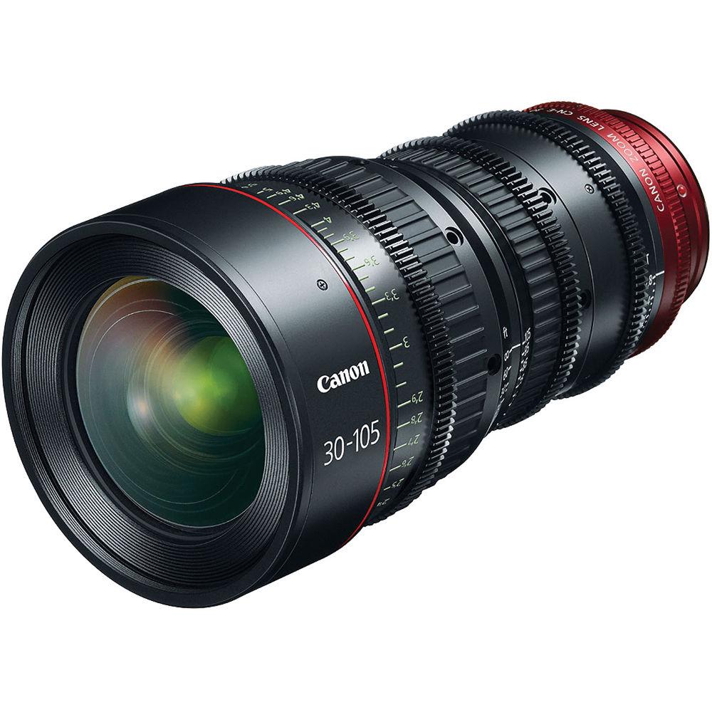 Telephoto canon zoom lens