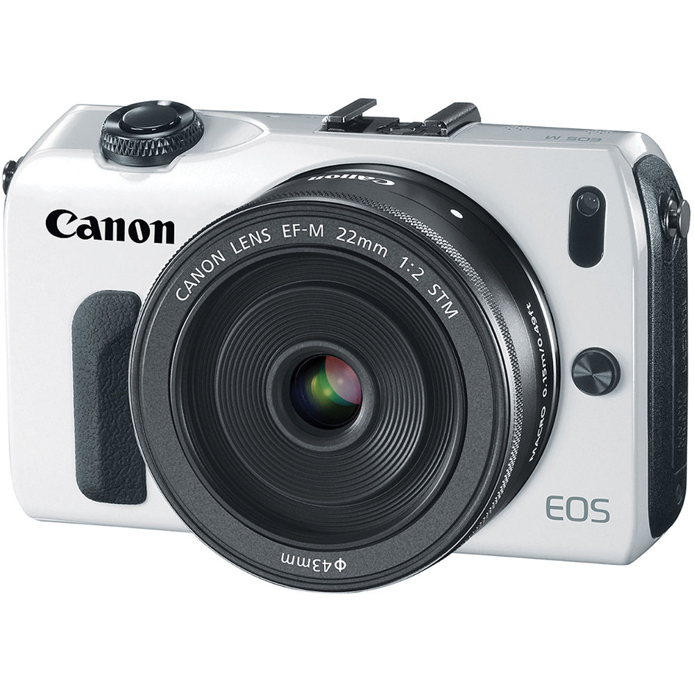 canon eos m mirrorless digital camera with ef m 22mm 6610b024 rh bhphotovideo com Canon EOS 7D Canon EOS M Body Only