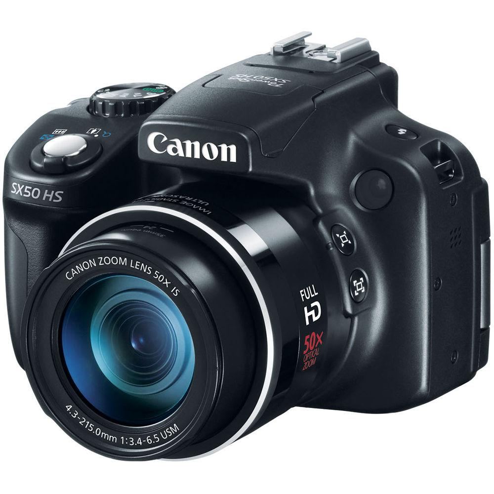 Canon PowerShot SX50 HS Digital Camera 6352B001 B