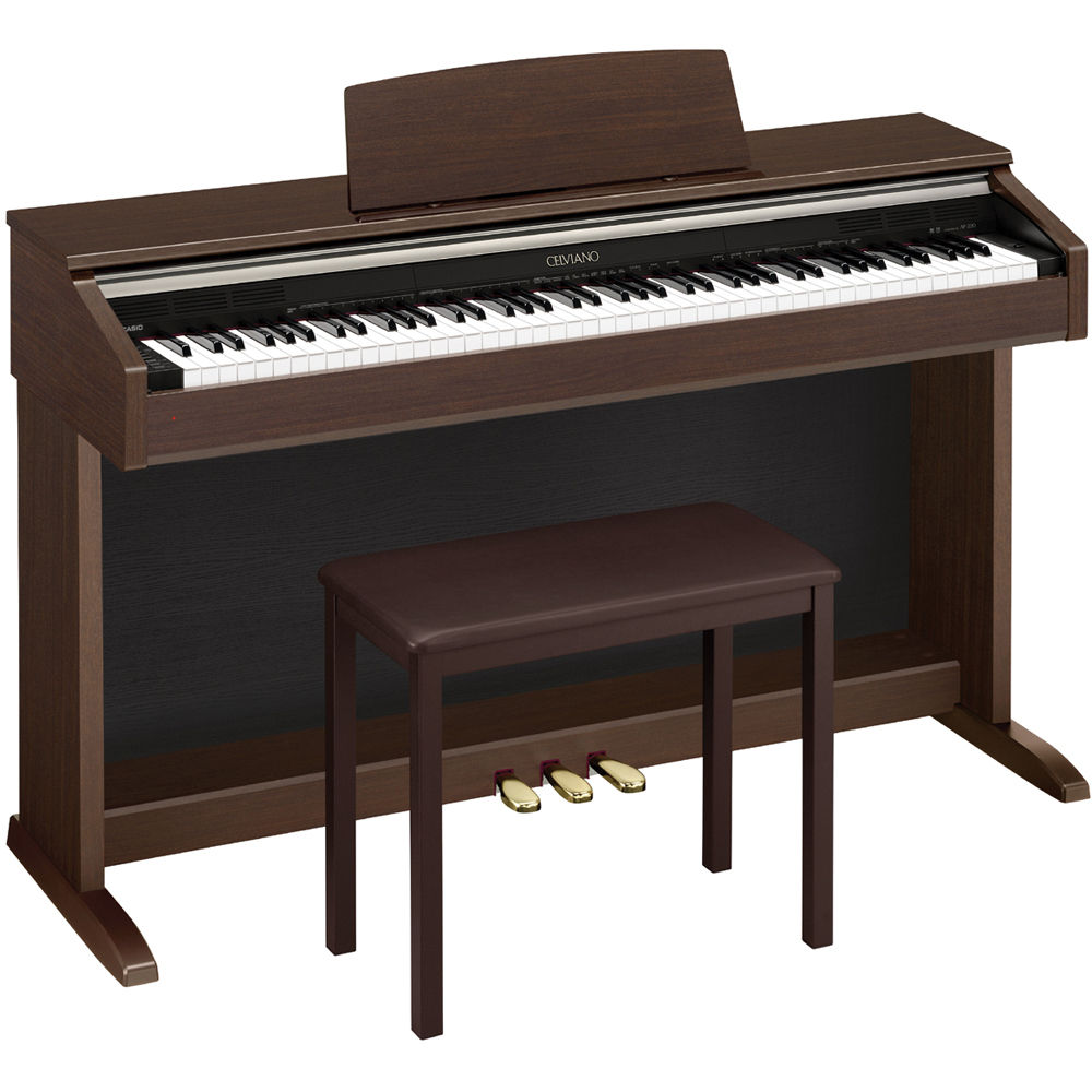 casio ap 220 celviano 88 key digital piano ap220bn b h photo. Black Bedroom Furniture Sets. Home Design Ideas