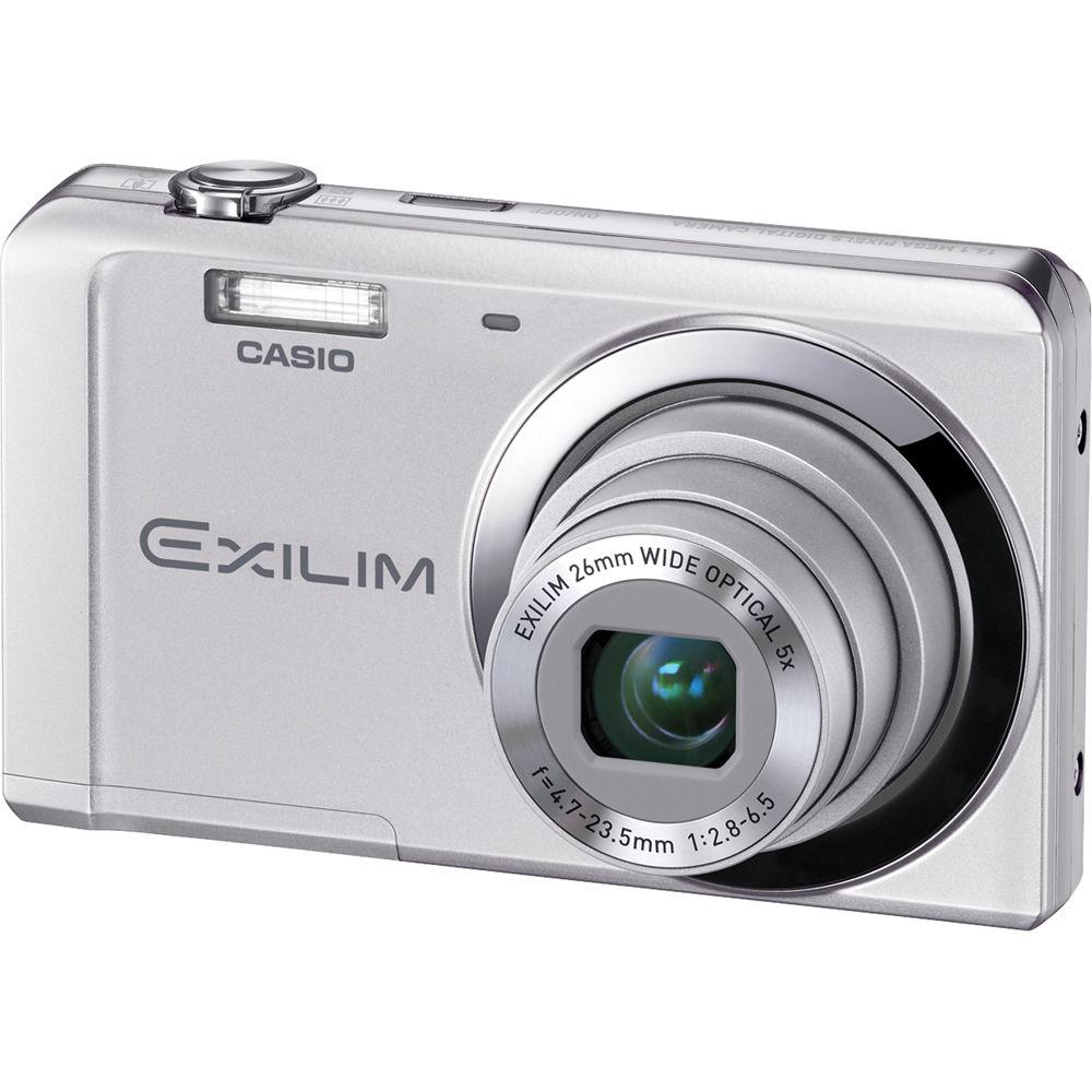 casio exilim ex zs5 digital camera silver ex zs5s b h photo rh bhphotovideo com Casio Exilim Ex S10 Manual Casio Exilim Ex S10 Manual