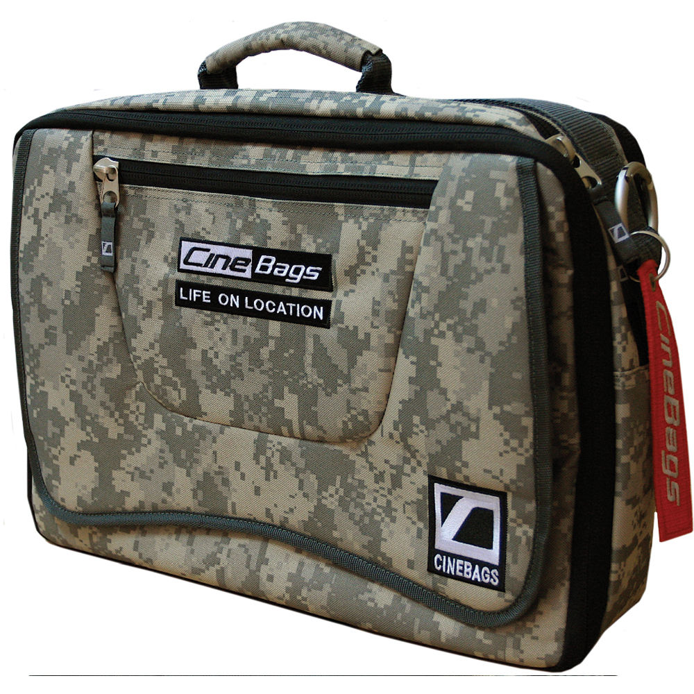Cinebags Cb 17 Laptop Bag Digital Camo With Chocolate Webbing