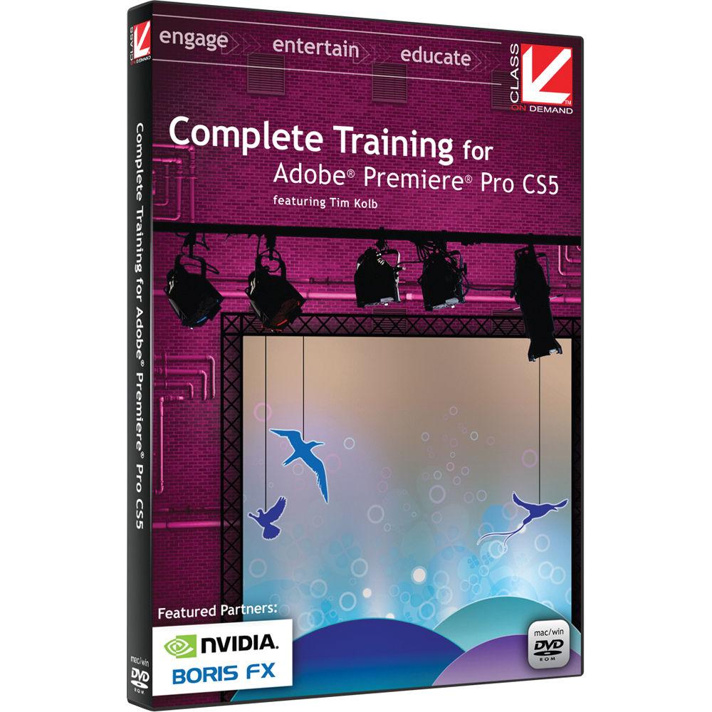Adobe premiere cs5 training dvd tutorial video win mac