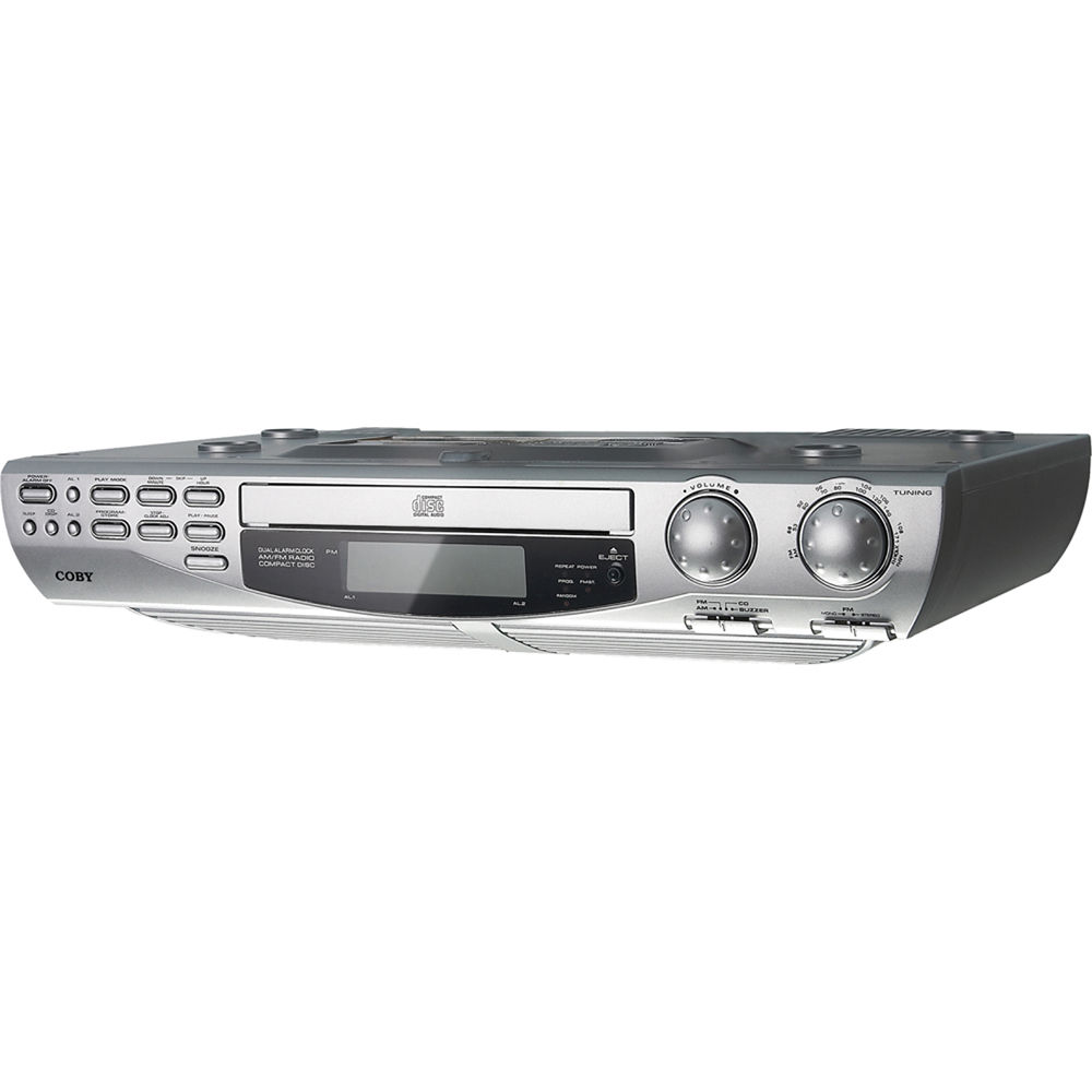 Coby Under Cabinet Radio Coby Kcd150 Under The Cabinet Cd Player Kcd150 Bh Photo Video