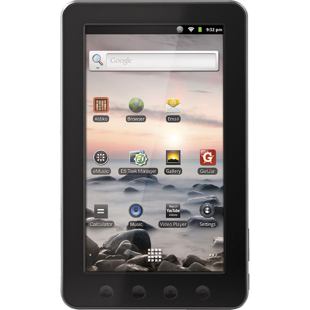 coby 4gb kyros mid7012 7 tablet mid7012 4g b h photo video rh bhphotovideo com Coby Kyros Android Tablet coby kyros mid1125 user manual