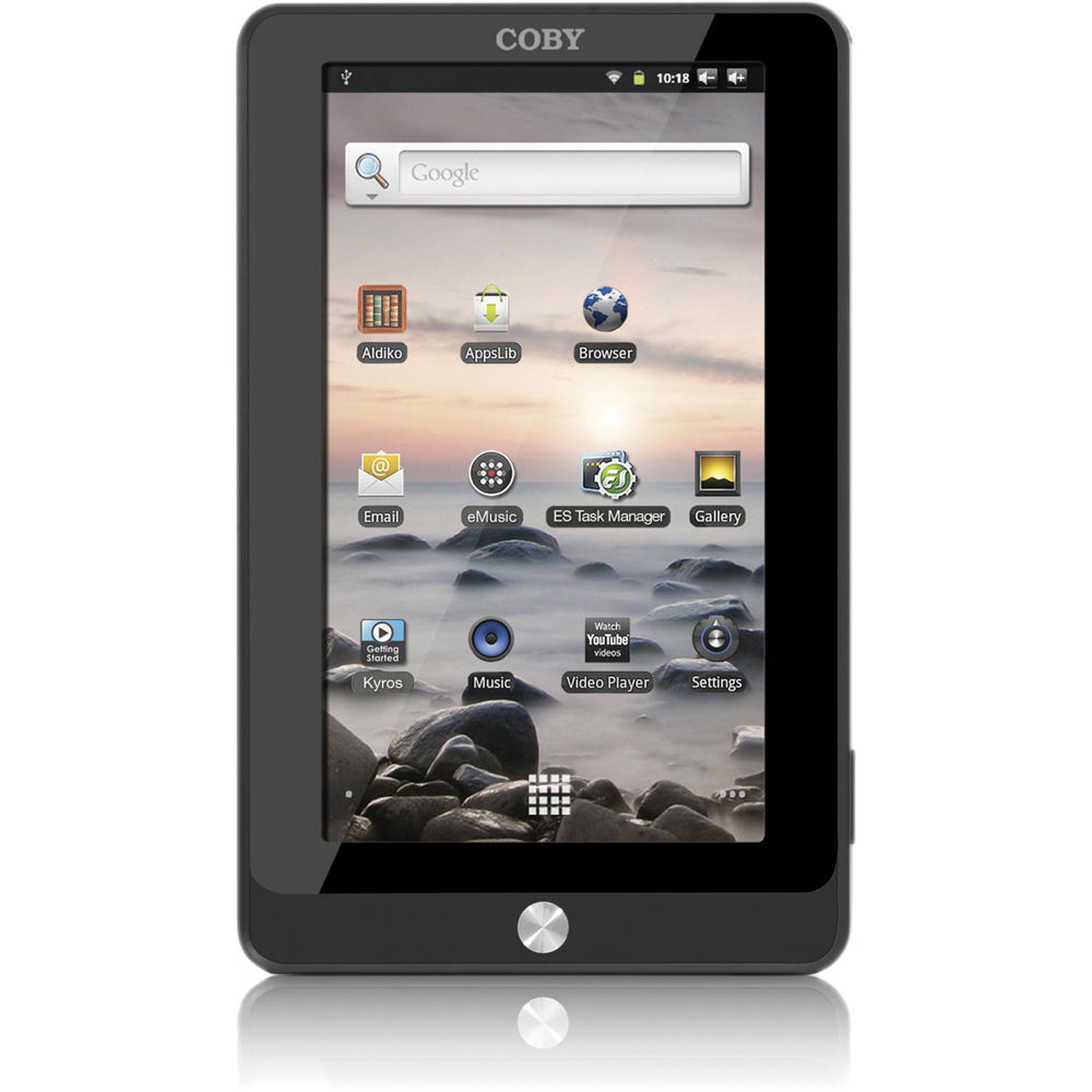 coby 4gb kyros internet touchscreen tablet mid7016 4g b h photo rh bhphotovideo com