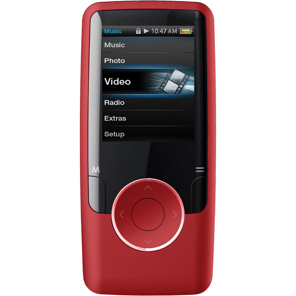 coby mp620 mp3 player red mp620 4gred b h photo video rh bhphotovideo com Coby MP3 Player Coupon Coby 2GB MP3 Player