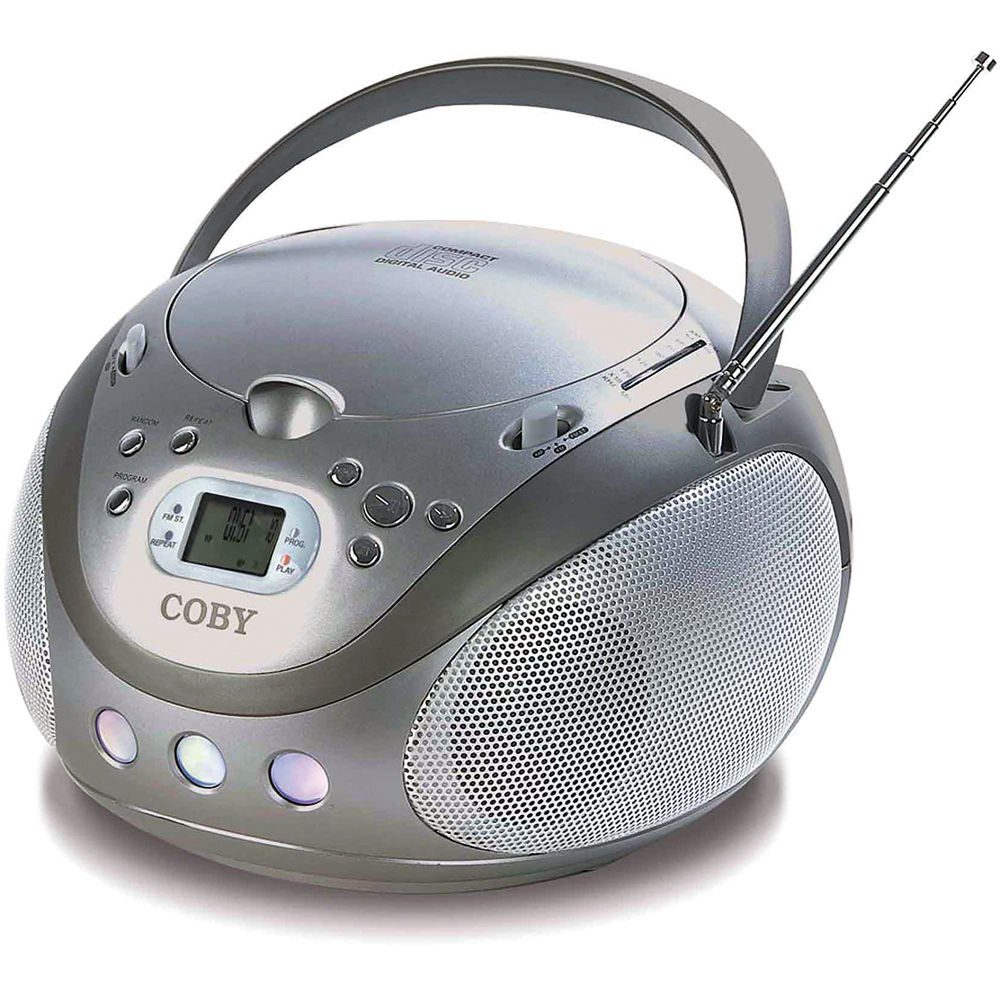 coby mp cd451 portable stereo mp3 cd player with am fm mpcd451. Black Bedroom Furniture Sets. Home Design Ideas