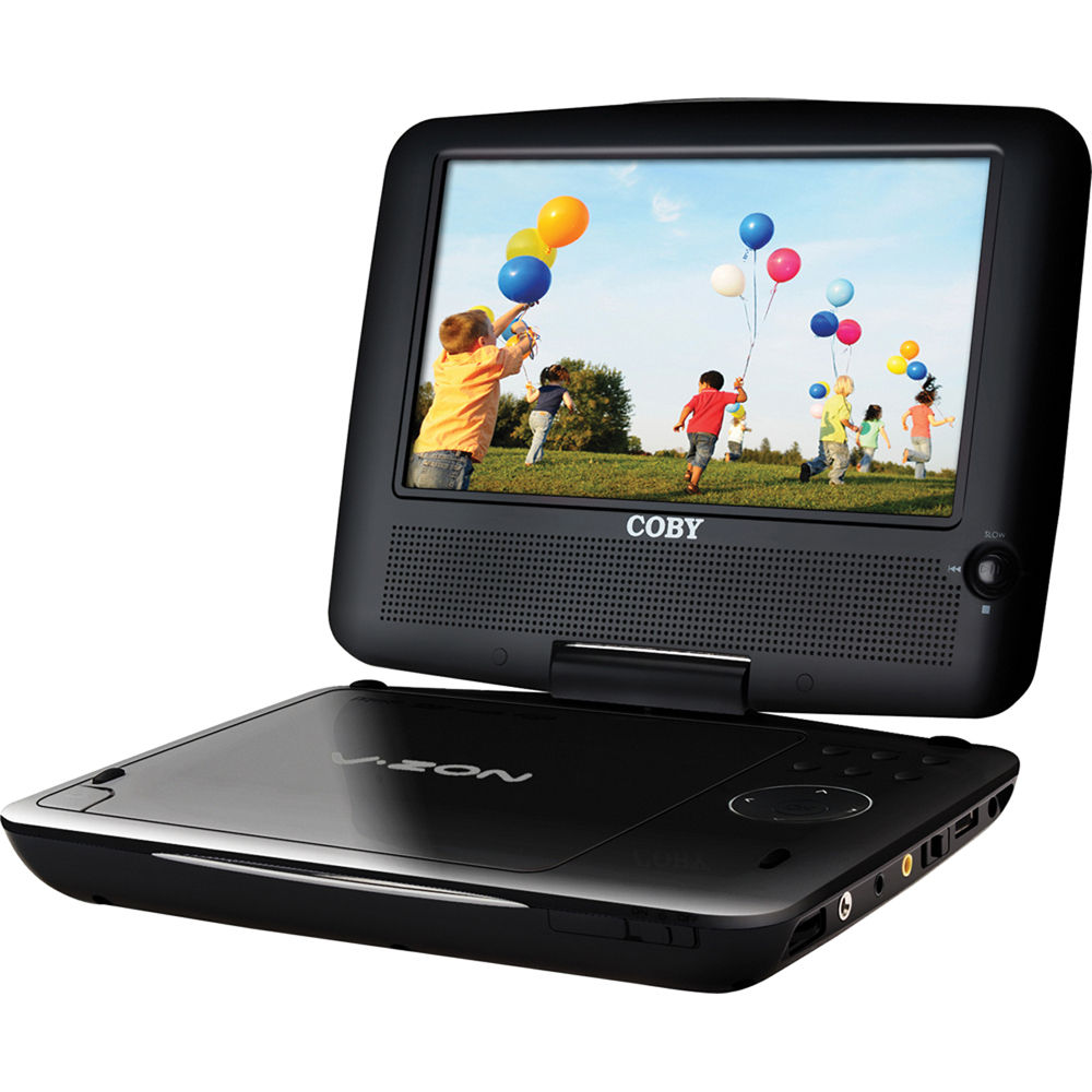 coby tfdvd7309 7 portable dvd player tfdvd7309 b h photo. Black Bedroom Furniture Sets. Home Design Ideas