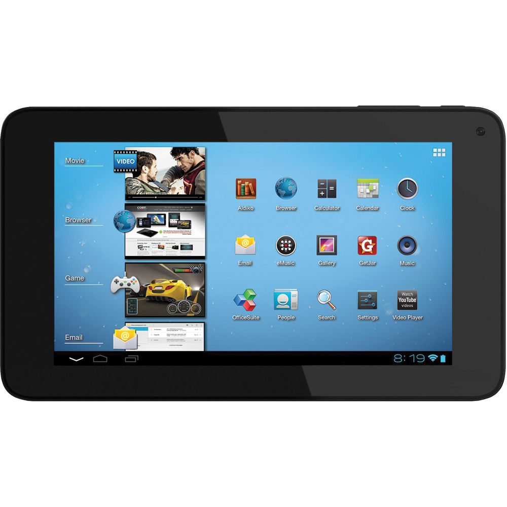 coby 7 mid7048 4 android 4 0 ics capacitive mid7048 4 b h rh bhphotovideo com Coby Kyros Android Tablet Coby Android Tablet Apps
